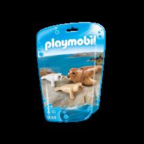 Foca con cuccioli Playmobil