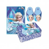 Frozen set plaid + pantofole