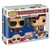 Captain Marvel vs Chun-Li Funko POP