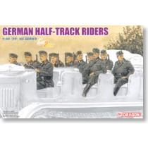 German Half-Track Riders