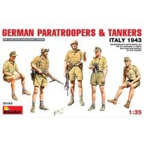 German Paratroopers & Tankers