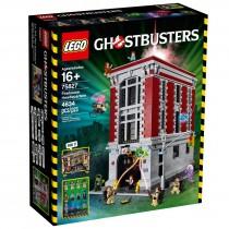 Ghostbuster home Lego caserma dei vigili del fuoco