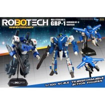 Robotech Heavy Armor Veritech Fighter Collection Action Figure 1/100 Max Sterling GBP-1J