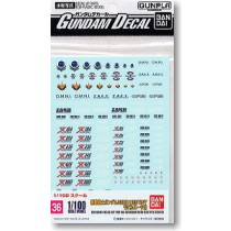 Gundam Decal for SEED Destiny (Gundam Model Kits)