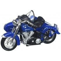 Harley Davidson 1952 FL Hydra Glide C / Sidecar Blue