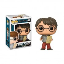 HARRY POTTER - POP Vinyl 42 Harry With Marauders Map