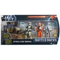 Hasbro TPM3D Republic Clone Troopers