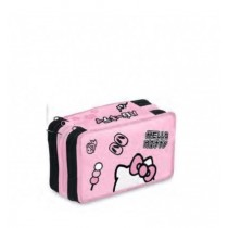 Astuccio triplo Hello Kitty