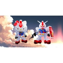 HELLO KITTY/RX-78-2 GUNDAM[SD EX-STANDARD] [CLEAR COLOR]