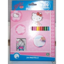 Hello Kitty 24 pastelli Giochi Preziosi