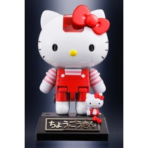Hello Kitty red stripe ver. Chogokin by Bandai