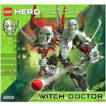 Hero Factory with doctor Lego
