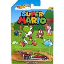Mattel Hot Wheels Super Mario Peach Strutzi Toad Donkey Kong Yoshi Luigi