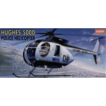 Hughes 500D Police Helicopter