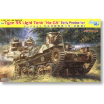 "IJA Type 95 Light Tank ""Ha-Gō"" Early Production"
