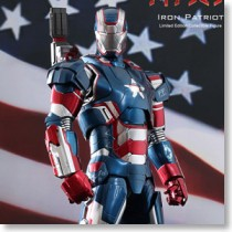 Movie Masterpiece Diecast - Figure: Iron Man 3 Iron Patriot