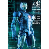 "Iron Man 12"" Mark Stealth die cast EXC"