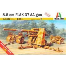 8.8 cm FLAK 37 AA GUN Italeri