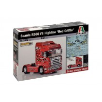 Scania R560 V8 Highline''Red Griffin''