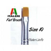 Italeri Size 10 Synthetic Flat Brush