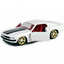 Roman's Ford Mustang Fast & Furious white
