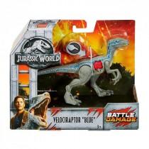 Velociraptor Blue Battle Damage