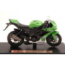 Kawasaki Ninja ZX-10R Green Moto by Maisto
