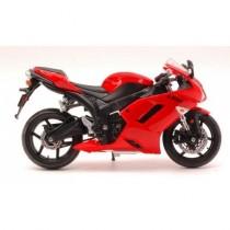 MI07118R Kawasaki Ninja Zx 6 R Red by Maisto