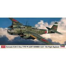 Kawasaki Ki-48-II Otsu Type 99 Twin-Engined Light Bomber `8th Flight Regiment