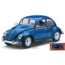 VW Beetle 1967 blue classic by Kinsmart