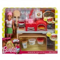Barbie - La Pizzeria con bambola, Tavolo per le pizze