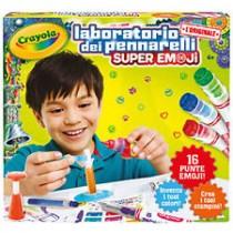 Laboratorio dei pennarelli super Emoji Crayola