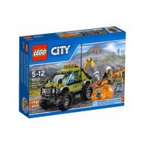 CITY Camion delle esplorazioni vulcanico