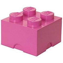 Lego 4003 Storage Brick 4 Medium Bright Pink