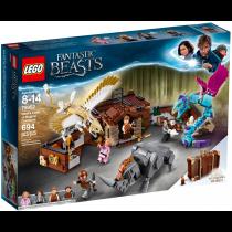 Harry Potter Lego la valigia delle creature magiche di Newt