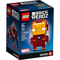 Brick Headz Iron Man Lego