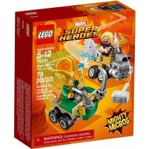 Super Heroes Mighty Micros Thor VS Loki