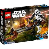 Scout Trooper & Speeder Bike Lego