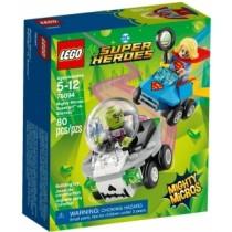 Super Heroes Mighty Micros Supergirl VS Brainiac