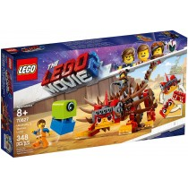 Lego the Movie Ultrakatty & Warrior Lucy