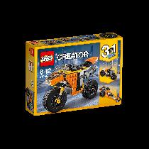 Sunset Street Bike Lego Creator