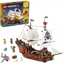 Lego 31109 – Galeone dei Pirati, Taverna e Isola del Teschio