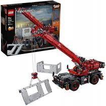LEGO 42082 – Grande Gru mobile Mezzo Pesante e Battipalo Mobile 2 in 1 con Funzioni Motorizzate