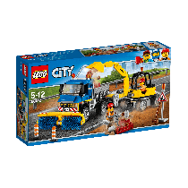 Lego City Sweeper Excavator