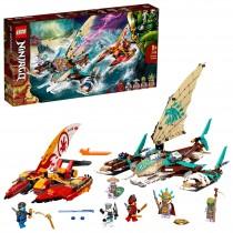 Lego 71748 – Battaglia in Mare dei Catamarani Novità Marzo 2021
