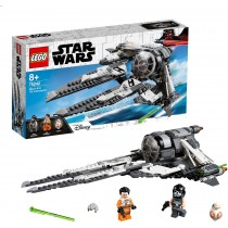 EGO Star Wars TIE Interceptor Black Ace, Set con Astronave