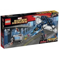 Super Heroes The Avengers Quinjet Chase
