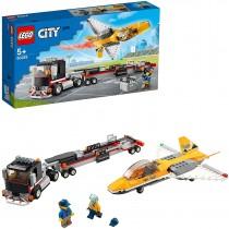 LEGO City 60289 Trasportatore di Jet Acrobatico