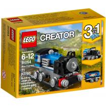Creator Locomotiva blu Lego