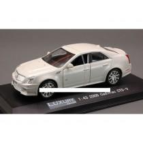 Cadillac Cts-V 2009 White-Diam.1/43